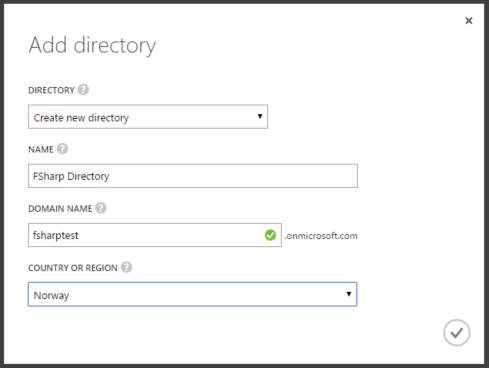 Add directory